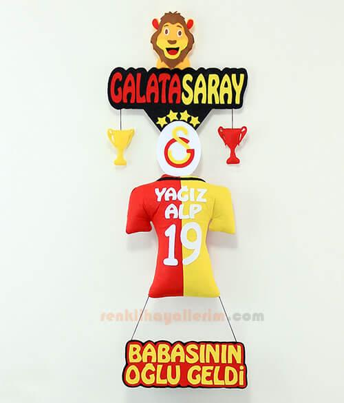 Yağız Alp isimli Galatasaray Kapı Süsü