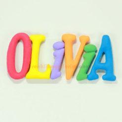 Olivia isimli isimlik Bebek Kapı ve Oda Süsü