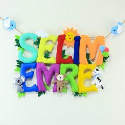 Selim Emre isimlik isimlik kapı süsü