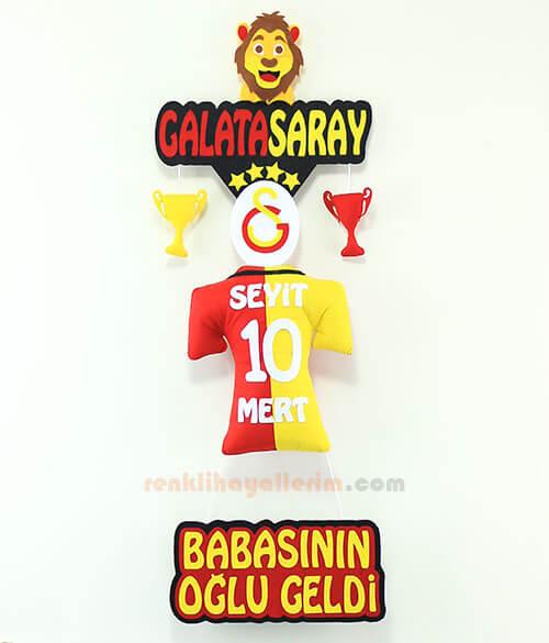 Seyit Mert isimli Galatasaray Bebek Odası Kapı Süsü