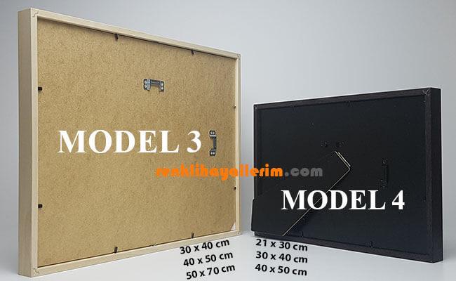 Çerçeve Model 3 - 4 Arka