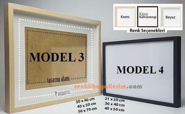 Çerçeve Model 3 - 4 Ön