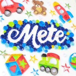 Mutlu oyuncaklar quilling kağıt telkari sanatı