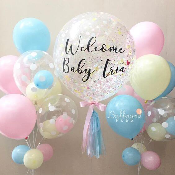 Bebek Odası Balonları - Hastane Odası Süsleme