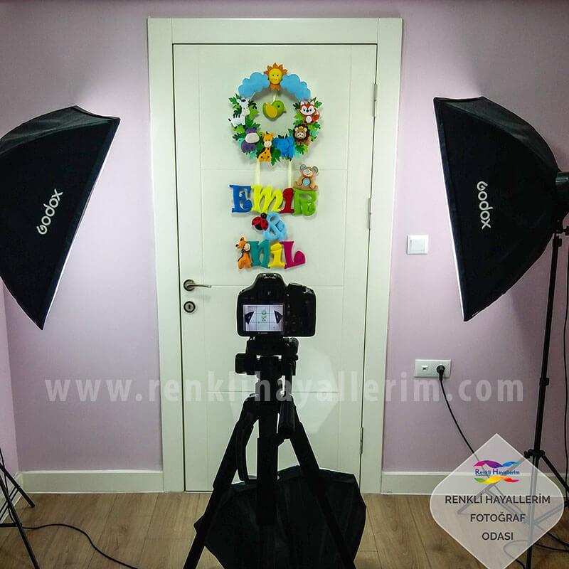 Renkli Hayallerim Ürün Fotoğrafları Çekim Odası