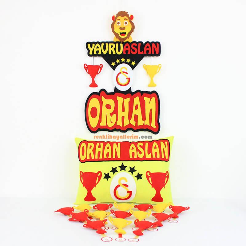 Galatasaray Doğum Odası Süsleme Seti