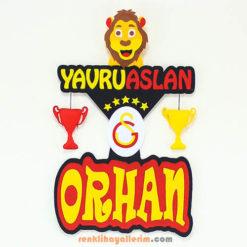 Galatasaray Doğum Odası Kapı Süsü