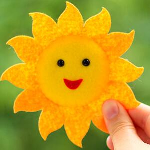 Keçe Güneş Figürü