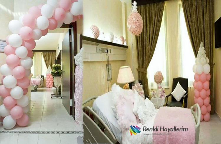 Hastane Odası Süslemede Yapılan 5 Hata - Balonlu Süsleme