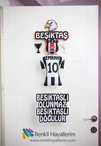 Beşiktaş Bebek Odası Kapı Süsü