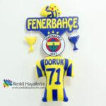 Fenerbahçe Formalı Bebek Kapı Süsü