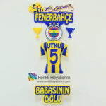Fanatik Fenerbahçe Bebek Kapı Süsü