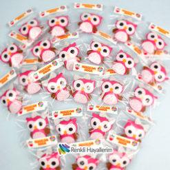 Baykuş Kız Bebek Magnetler