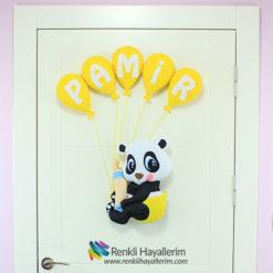 Panda Bebek Kapı Süsü Modeli - Pamir