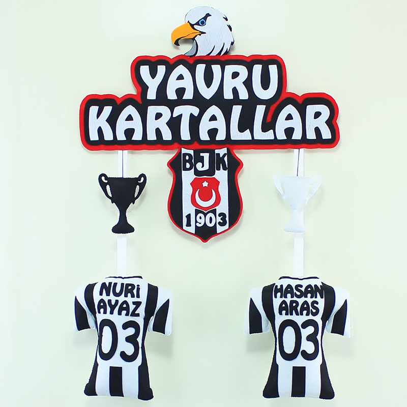 Yavru Kartallar Beşiktaş Kardeş Kapı Süsü